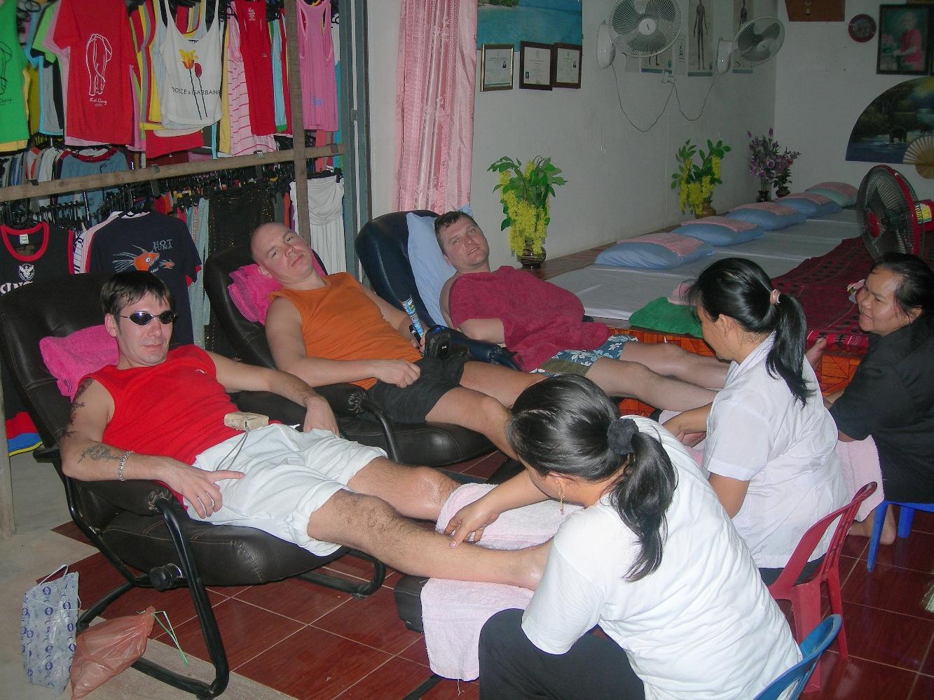 Тайский откровенный массаж 10 фотография